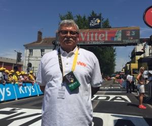 Carlos Julio Guzmán, periodista deportivo colombiano