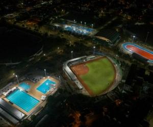 Los escenarios deportivos para los Juegos Bolivarianos ya están listos.