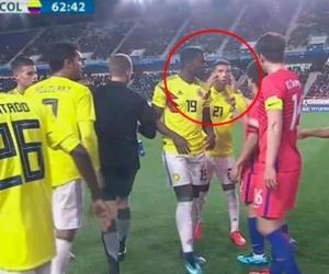 Este fue el gesto de Cardona a los jugadores de Corea del Sur