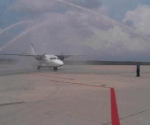 La aerolínea Aerocaribe anunció este viernes que ofrecerá vuelos chárter entre la ciudad colombiana de Riohacha y la venezolana de Maracaibo.
