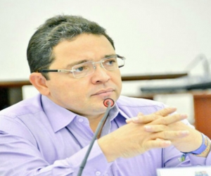Rafael Martínez, alcalde de Santa Marta.