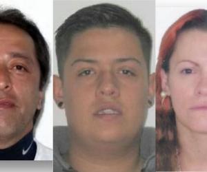 """Carlos Armando Gil Díaz, alias """"el Pollo"""" o """"Miguel"""", Brandon Esneyder Gaitán Sanchez y Olga Cano Agudelo"""