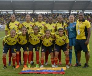 Selección Colombia Femenina sub 20, máxima favorita al oro bolivariano.