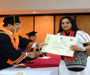 Unimgadalena hace historia al graduar a la primera mujer arhuaca como Magíster en Educación