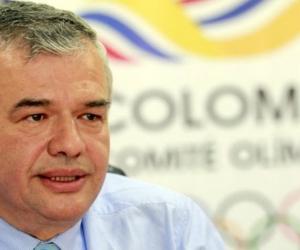 Ciro Solano, director del Comité Olímpico Colombiano.