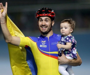 El más destacado del día fue Andrés Felipe Muñoz al subirse dos veces a lo más alto del podio.