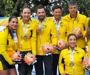 de Colombia brilló en las tres pruebas que se disputaron a lo largo de la semana en el Club Campestre de Cali.