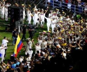Inauguración Juegos Bolivarianos