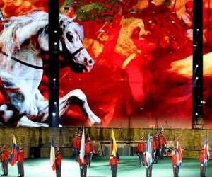Imágenes de la inauguración de los Juegos Bolivarianos