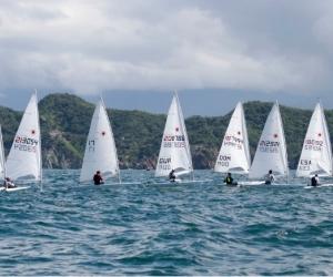 El mar de Santa Marta tiene encantados a los deportistas de Vela