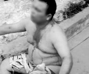 El hombre fue desnudado y golpeado por una turba que lo acusó de raptar a una niña de 4 años en Soledad