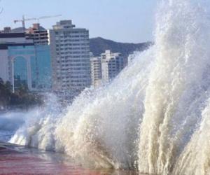 En julio de 2017, Santa Marta fue una de las ciudades afectadas por una pequeña onda tsunami.