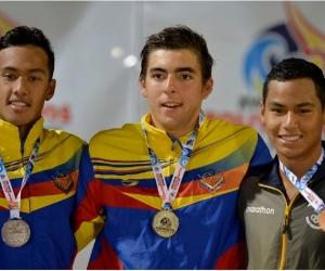 Venezuela campeona en natación de carreras