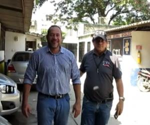 Se entregó el contratista de la obra, Omar Álvarez Escorcia.