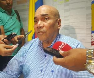 Vicente Guzmán, Director de la Fiscalía del Magdalena.