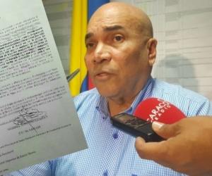 El juez del caso Caicedo-Martínez respondió a los señalamientos del director de Fiscalías del Magdalena.