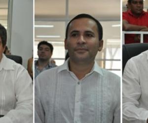 Iván Saravia, José Manuel Mozo y Juan Carlos Palacio.