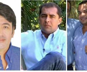 Fabián Castillo, José Luis Pinedo y Carlos Mario Farelo son los tres candidatos de Cambio.
