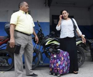 Josefa Ortiz, esposa del pastor evangélico Manuel Salvador Ibarra, uno de los dos presos por la tragedia de Fundación.