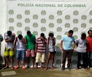 Banda delincuencial 'Los Primos'.