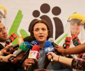 Karen Abudinen, directora del ICBF.