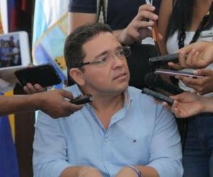 Alcalde de Santa Marta, Rafael Martínez.