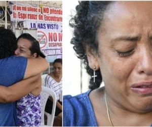 Luz Divina Cabarcas, mamá de Gabriela Andrea.