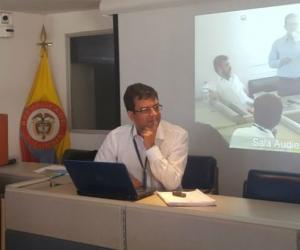 Jorge Enrique San Juan, procurador delegado.