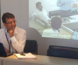 Jorge Enrique Sanjuán, procurador delegado, se declaró impedido para llevar a cabo la audiencia contra Martínez.