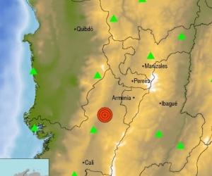 El epicentro fue en Bugalangrande, Valle.