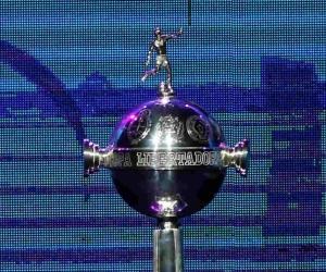 Trofeo de la Copa Libertadores de América.