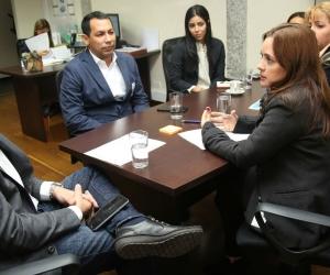 Alcaldesa encargada de Santa Marta, Jimena Abril De Angelis, radicó ante el Viceministerio de Agua Potable y Saneamiento Básico el proyecto por medio del cual se busca concretar la Asociación Público Privada -App-.