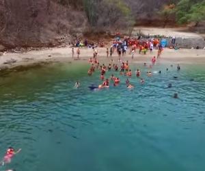 Waikiki es una playa cercana a Bahía Concha adonde los turistas van a caretear.