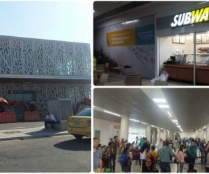 El pasado miércoles entró en funcionamiento la nueva terminal del aeropuerto de Santa Marta.