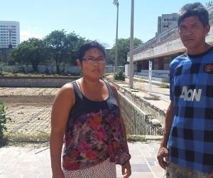 Después de residir y laborar 27 años en la Piscina Olímpica fueron desalojados.