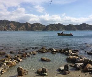 Playa Rosita es un balneario ubicado en jurisdicción del corregimiento de Taganga.