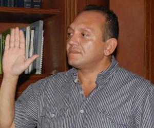Exalcalde de Fundación, Iván David de León Villa.