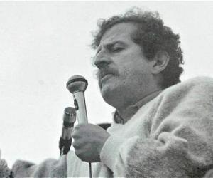 Luis Carlos Galán, dirigente político asesinado en 1989.