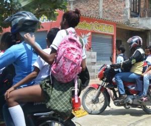 Durante el fin de semana y lunes de carnaval no habrá circulación de motos.