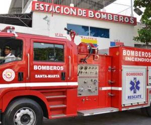 Estación de Bomberos de Santa Marta.