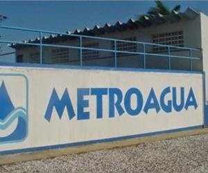 Sede de Metroagua en Santa Marta.