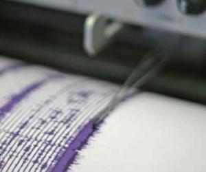 El temblor se registró a las 8:50 a.m.