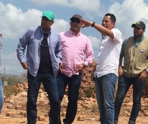 El encuentro estuvo presidido por el vicerrector de extensión y proyección social, ingeniero especialista Juan Carlos De La Rosa Serrano  y el alcalde del municipio de El Banco, Víctor Rangel López.