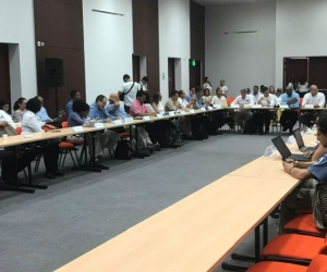 Reunión de seguimiento a las acciones de la Ciénaga Grande de Santa Marta.