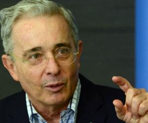 Álvaro Uribe, expresidente.