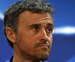 Luis Enrique Martínez, técnico del Barcelona.