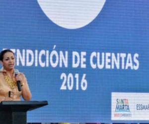 Gerente de Essmar Ingrid Aguirre.