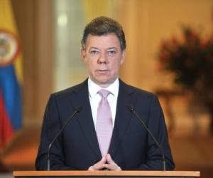 Presidente de la República Juan Manuel Santos.