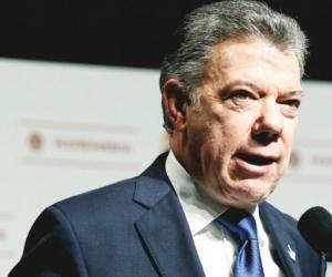 Juan Manuel Santos.