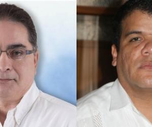 Hernando Guido Ponce y Anselmo Marín, diputados que se veían directamente afectados por la medida judicial.